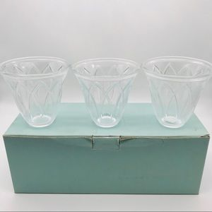 Partylite Classic Faceted Votive Candle Holders
